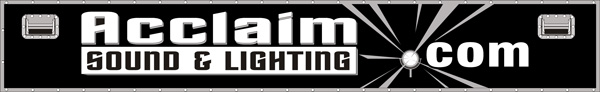 Welcome to Acclaim Sound and Lighting Canada